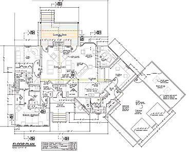 Cad Floor Plans Over 5000 House Plans